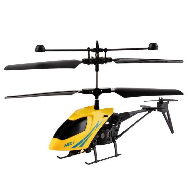New Arrival Electric Micro Brushless Mini RC Helicopters Remote Control Aircraft Children Toys With Gyro 57