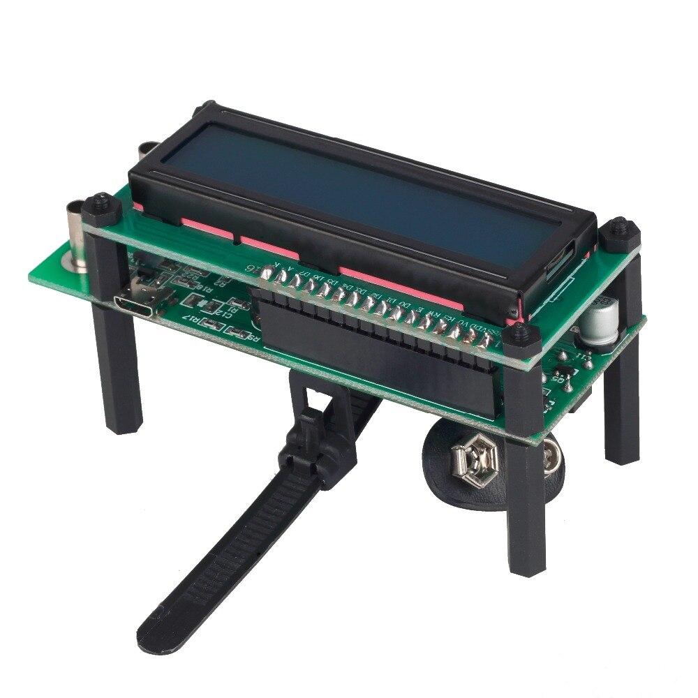 ESR01 Автоматический диапазон Цифровой LCR тестер сопротивления, емкости и индуктивности Емкостное измерительное устройство ESR метр USB мощность