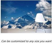 Free shipping custom mural Mount Everest Mural Wallpaper large bedroom, living room TV backdrop wallpaper