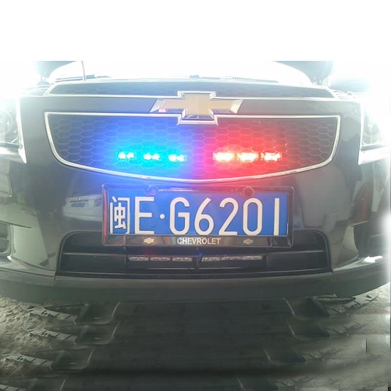 Transporti FUGSAME FALAS Super Bright 4 * 6 LED Car Strobe Light High - Dritat e makinave - Foto 5