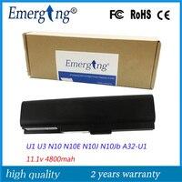 High Quality Factory Laptop Battery For ASUS U1F U1E U3 U3K N10J N10E A32 U1