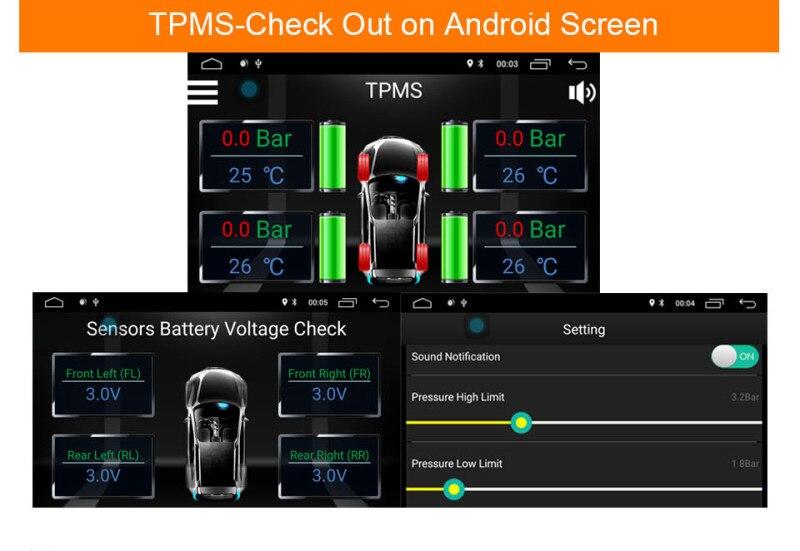 Podofo 2din Car Radio Universal Car Multimedia Player 7 Touch BT MP5 TF USB FM Car Autoradio Audio Stereo With Rear View Camera tpms