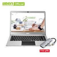 Bben ноутбука Нетбуки Intel celeron N3450 14,1 дюймов планшетный ПК Windows 10 Home 4 ГБ/64 ГБ EMMC 4 ядра windows планшет