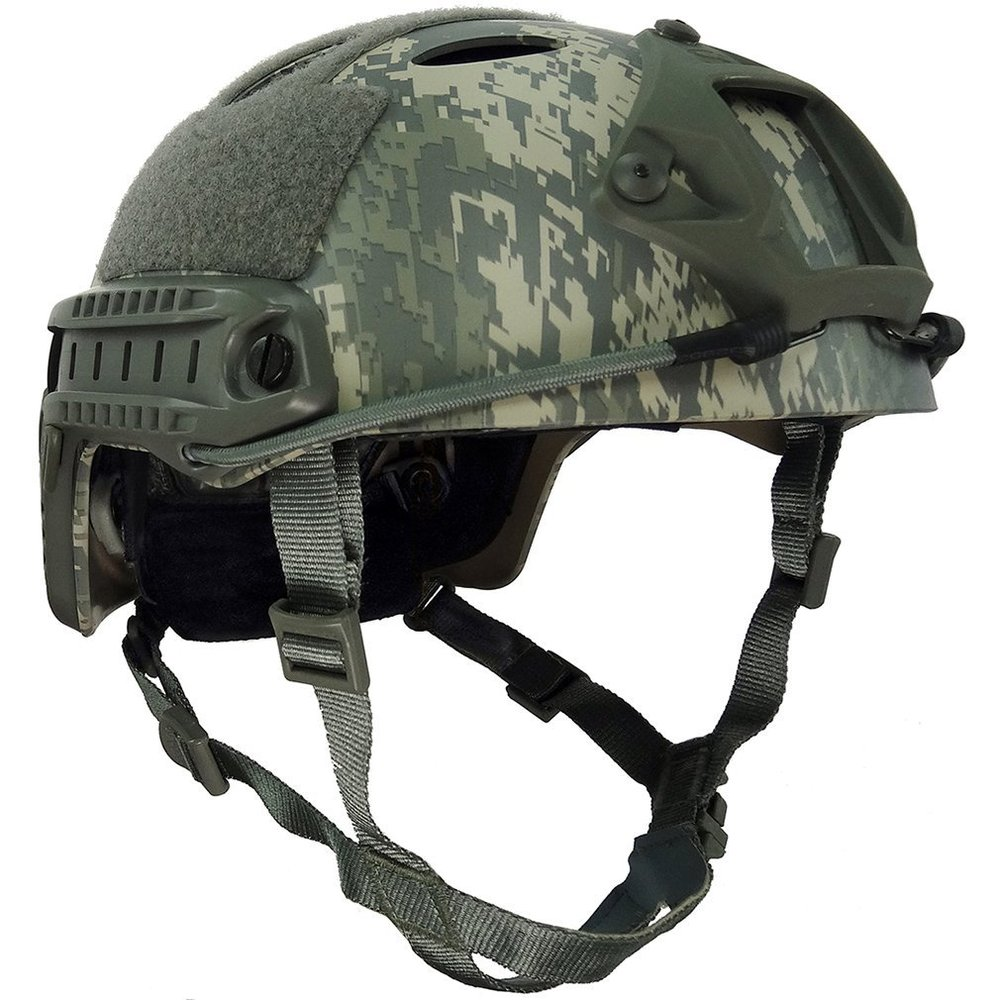 Здесь продается  VILEAD 6 Colors Tactical Lightweigh Camouflage Fast PJ Type Base Jump Military Tactical Helmet Pararescue Jump Helmet Helmets  Спорт и развлечения