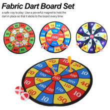 Sports Toys Fabric Dart Board Set Kid Ball Target Game For Children Security Toy Gifts New newest units 1 set connect 4 in a line board game educational toys for children sports entertainment for nin