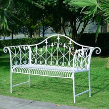 Double Chairs Leisure Lounge Bench Wedding Photo Studio Chairs Outdoor Furniture Long Chairs(China)