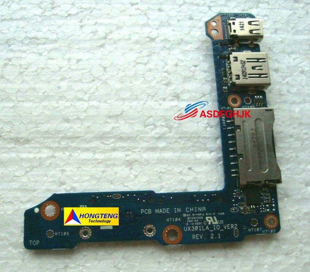 Original pour ASUS UX301 UX301L UX301LA double SSD i/o USB lecteur SD carte de Port d'affichage complet testé OK