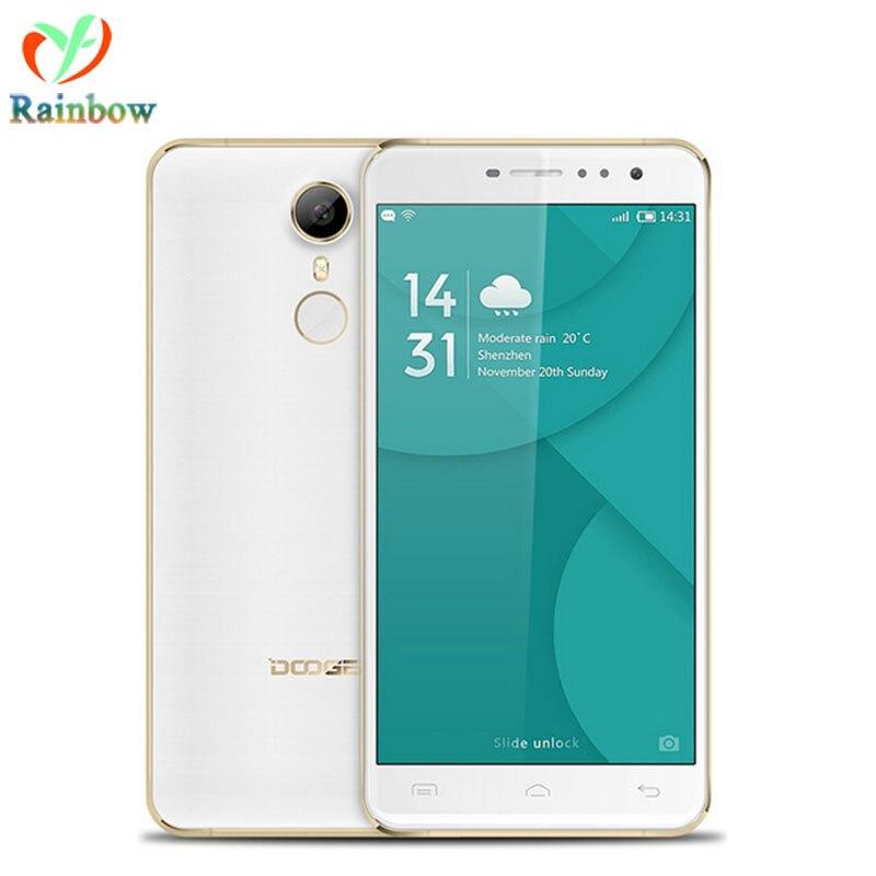 Цена за Doogee F7 Pro Android 6.0 MTK6797 Дека Ядро Смартфон 5.7 Дюймов 4 ГБ RAM 32 ГБ ROM Мобильный Телефон 4000 мАч 4 Г LTE Сотовый Телефон