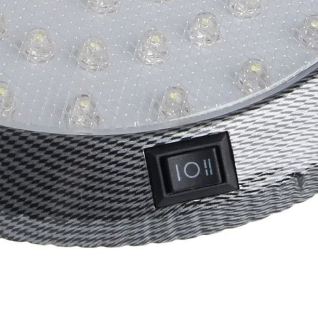 Image 4 - 1 Pcs DC12V 46 LED Vehicle Car Interior Light Dome Roof Ceiling Reading Trunk Car Light Lamp Car Styling Night Light ABS Plastic-in Signal Lamp from Automobiles & Motorcycles