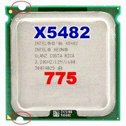 インテル xeon X5482 ソケット LGA775 CPU 3.2/12 メガバイト L2 キャッシュ/クアッドコア/FSB 1600 プロセッサとアダプタ