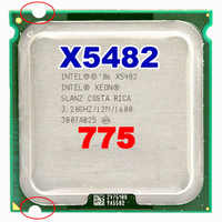 INTEL xeon X5482 socket LGA775 CPU 3.2GHz /12MB L2 Cache/Quad Core/FSB 1600 Processor with adapters