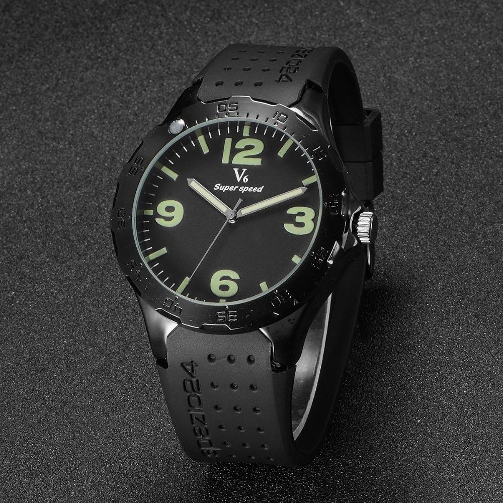 relogio masculino V6 Fashion Business Men Luxury Brand Quartz Watch Mens Sport Watches Clock Luminous Wristwatch oulm mens designer watches luxury watch male quartz watch 3 small dials leather strap wristwatch relogio masculino