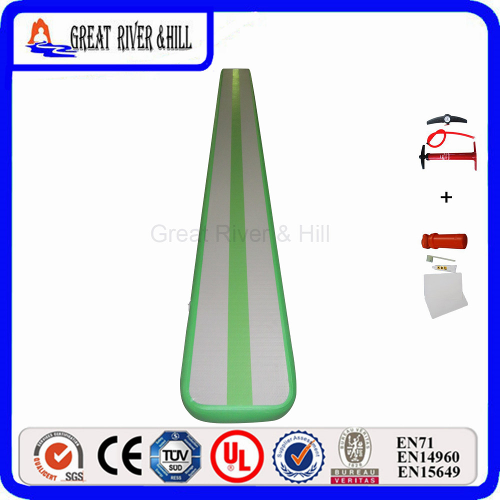 Great River Hill Home Mini Inflatable Air Track Used For Fitness font b Sports b font