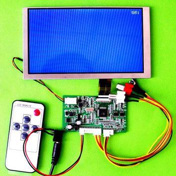 Free Shipping 2AV PAL/NSTC Input Signal LCD Driver Board+7inch A070FW03 V3  LCD Panel