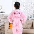 Photography Niño Niños Niñas REGALO Del Partido Ropa de Niño Con Capucha Pijamas Pijamas de Dibujos Animados Pijamas de Franela Pijamas Animal Cosplay cerdo