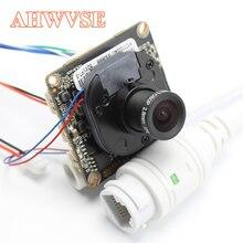 AHWVE DIY 1080P 2MP moduł kamery IP z IRCUT kabel RJ45 ONVIF H264 aplikacja mobilna XMEYE servecms CMS 2.8mm obiektyw