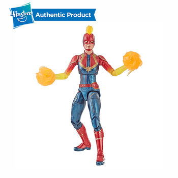 Hasbro Marvel Legends Captain Marvel Movie Toys 6-Inch Figures Avengers Marvel Legends Series Female Super Hero