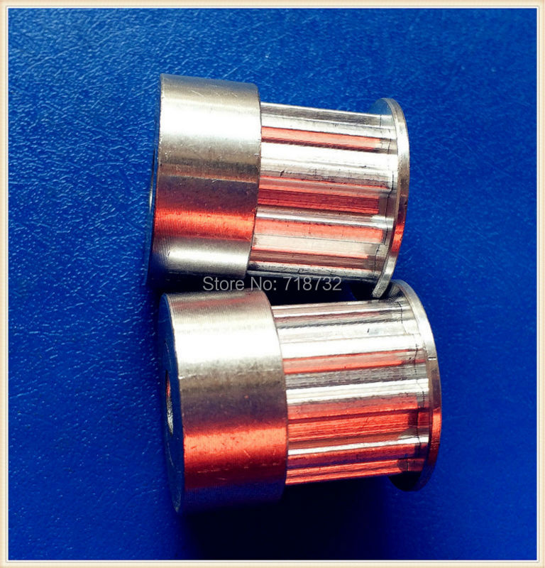 10teeth T5 timing pulley with 10mm belt width 6.35mm bore 80pcs/lot