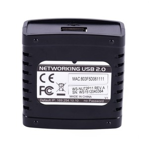 Image 3 - USB 2.0 LRP Print Server Share a LAN Ethernet Networking Printers Power Adapter USB HUB 100Mbps Network Print Server