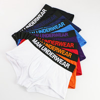 7pcs/lot Panties Mens Underwear Sexy Boxers Modal Boxer Men Big Size Underwear Breathable Men Underpants