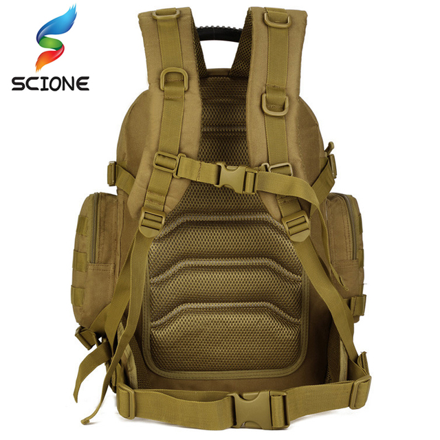Outdoor Hot 2 Set Military Tactical Backpacks Camping Bags Mountaineering bag Men's Hiking Rucksack Travel Backpack+Waist Pack 4