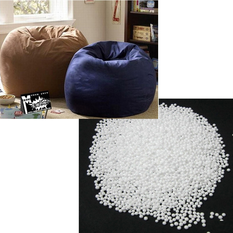 White Foam Balls Beanbag Baby Filler Bed Sleeping Bean Bags Chair Newborn Sofa Polystyrene Styrofoam Ball 5 7mm In Living Room Chairs From Furniture On