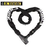 ETOOK Anti theft Bicycle Chain Lock MTB Mountain Road Bike Key Lock 1000mm Steel Anti Drilling Cycling Accessories 4 Colors
