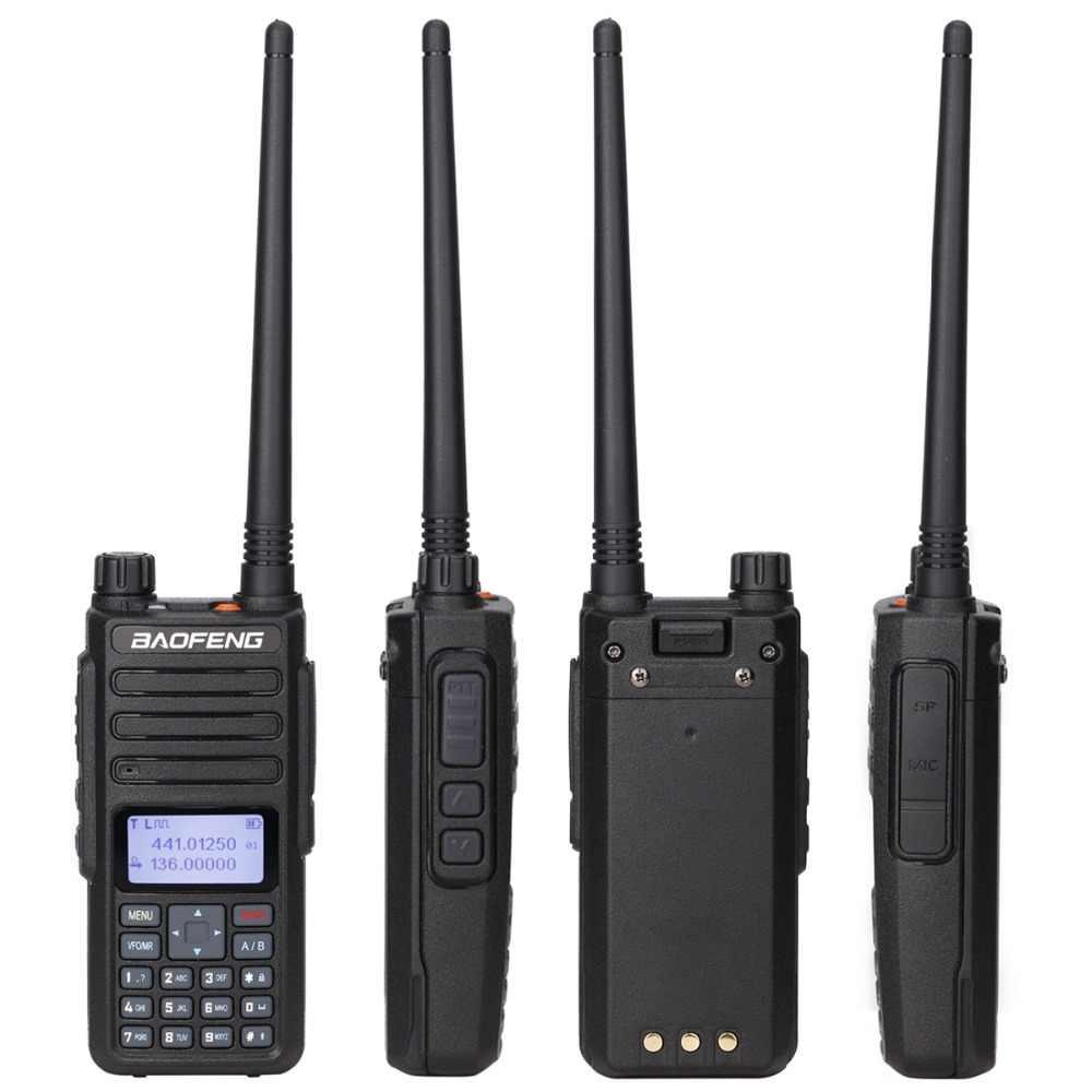 Baofeng DM-1801 цифровая рация tier 2 tier II Dual time slot DMR цифровой и аналоговый ретранслятор режим DM-860 Ham портативное радио