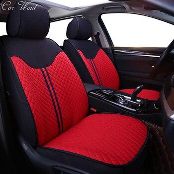Car Wind Custom car seat covers for Volvo vw golf polo Porsche Cayenne Toyota Mini Infiniti C70 V70 XC60 XC90 car accessories
