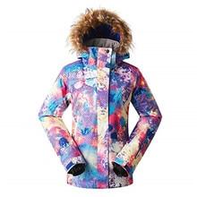 2018 GS ski jacket women winter snowboard jacket chaquetas de esqui cazadoras mujer veste ski suit female snow femme
