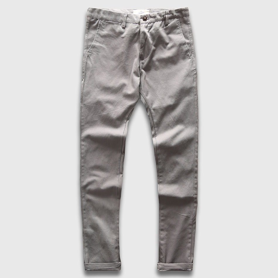 Zecmos Slim Straight Чоловіки Повсякденні штани чоловічі Осінь зима Нові модні плюс розмір кишені брюки