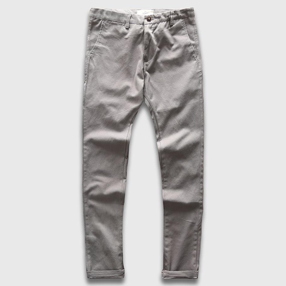 Zecmos Slim Straight Men Casual Hlače Muškarci Jesen Zima Nova moda Plus džepne hlače