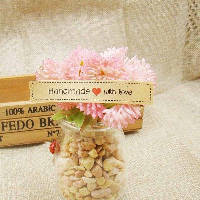 Aliexpress Com Buy 1000pcs Wholesale Handmade With Love 1000pcs