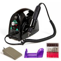 35000RPM High power Salon Electric Nail File Drill Glazing Manicure Pedicure Machine Accessory Pedicure Nail art tools Kit Set