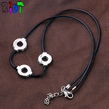 Naruto Uchiha Itachi necklace Leather Chain choker necklace
