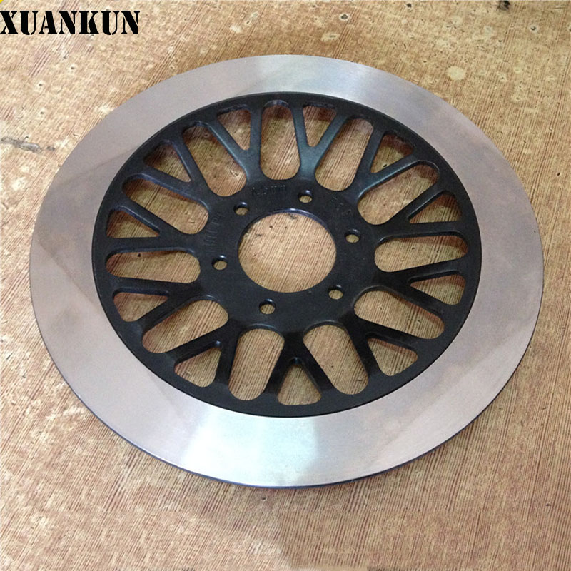 XUANKUN Motorcycle Accessories GZ125HS Front Brake Discs starpad for lifan motorcycle lf150 10s kpr150 new front brake discs accessories