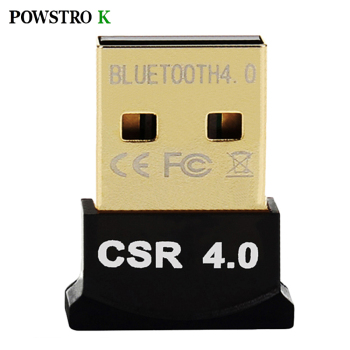 USB Bluetooth Adapter V4.0 Dual Mode Wireless Dongle Free Driver USB2.0/3.0 20m 3Mbps for Windows 7 8 10 XP Vista