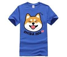 hot deal buy 2019 hot new men t shirts cute shiba inu emoji doge printed t-shirts unisex funny cartoon 100% cotton clothes casual tee shirts