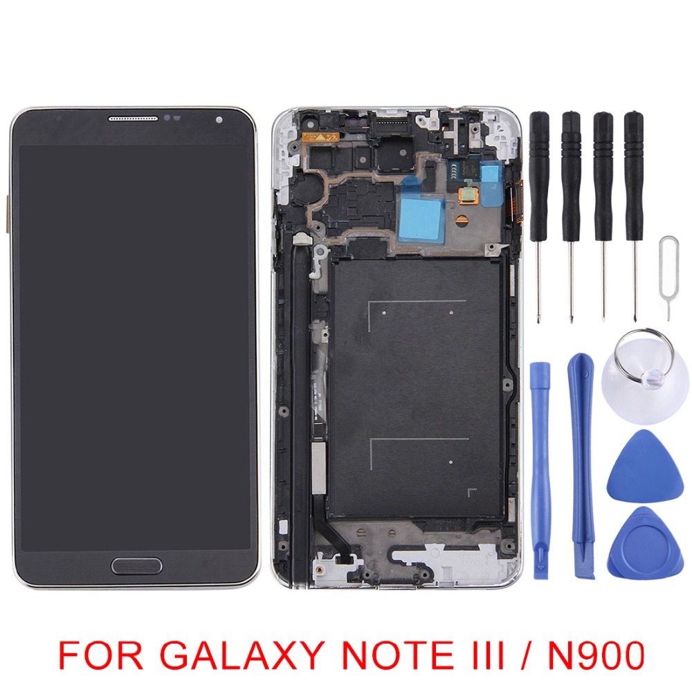 5.7 for Galaxy Note III / N900 Original LCD Display + Touch Panel with Frame for Galaxy Note III/N900 Replacement repair parts5.7 for Galaxy Note III / N900 Original LCD Display + Touch Panel with Frame for Galaxy Note III/N900 Replacement repair parts
