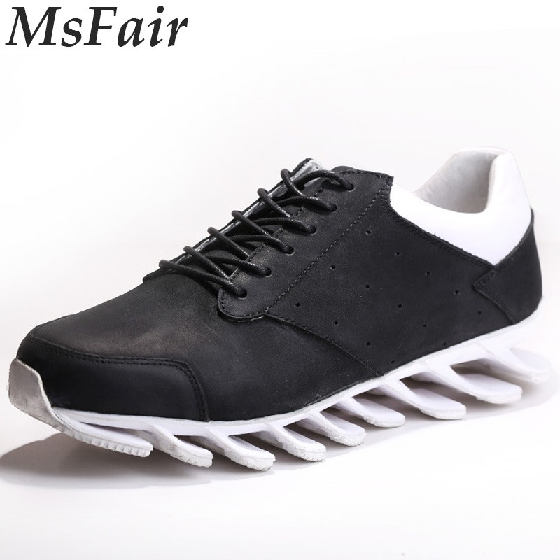 MSFAIR 2018 New Men Running Shoes Man Brand Outdoor Athletic Sport Shoes For Men Super Light Men Sneakers Walking Shoes Jogging msstor retro women men running shoes man brand summer breathable mesh sport shoes for woman outdoor athletic womens sneakers 46