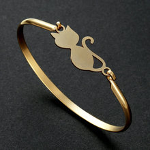 escalus new silver color magnetic stainless steel bracelet for women pure clear branded crystal bracelets bangle wristband charm Bright Moon New Arrival Gold Silver Color Bangle Bracelet Stainless Steel Bangle Charm Bracelets Horse For Gift