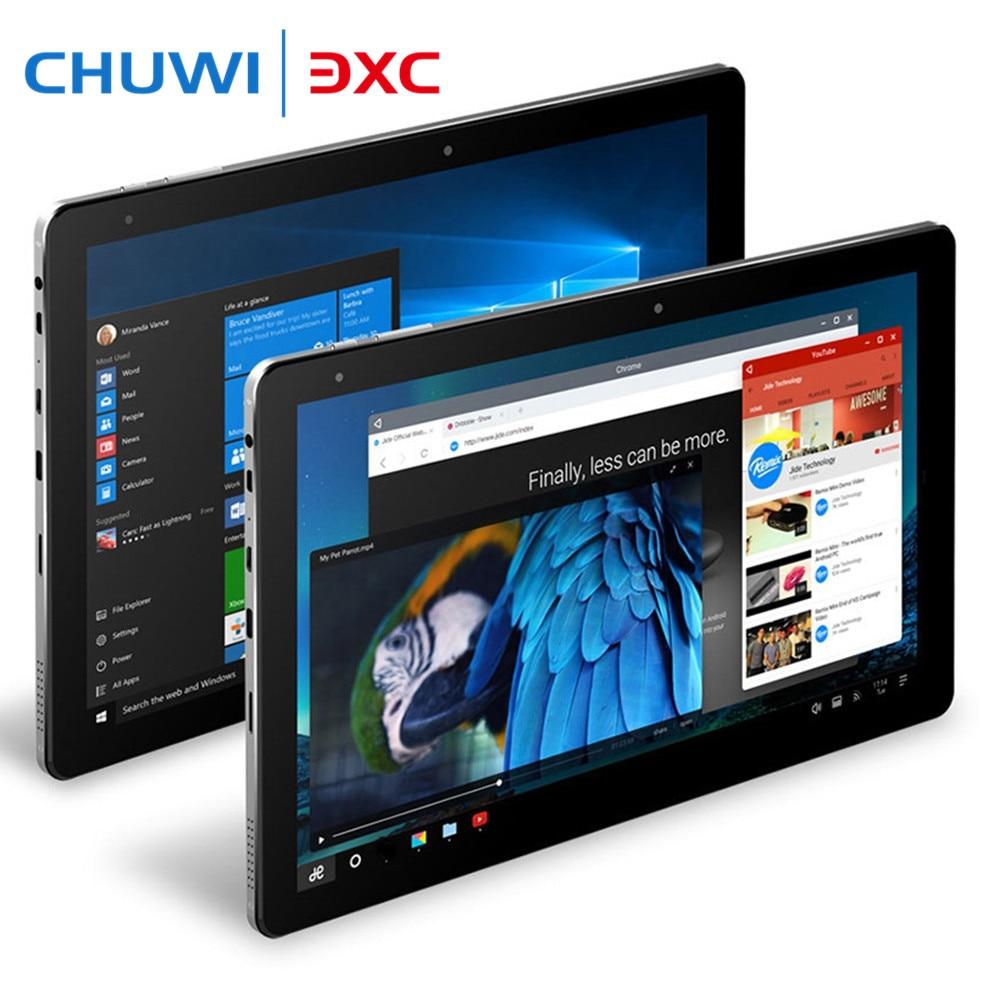 Galleria fotografica Chuwi Hi10 Pro 10.1 pouces Tablet PC <font><b>Intel</b></font> Cerise Sentier x5-Z8350 4G 64G Windows 10 et Android 5.1 1920x1200 IPS Double caméras Type-C