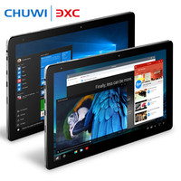 Chuwi Hi10 Pro 10.1inch Tablet PC Intel Cherry Trail x5-Z8350 4G 64G Windows 10&Android 5.1 1920x1200 IPS Dual cameras Type-C