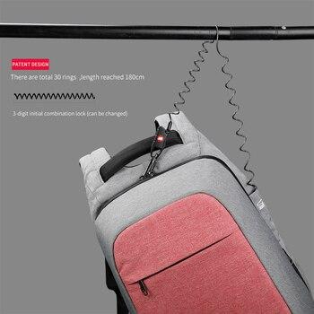 Multi Fashion Female Feminina Mochila Pink 15.6″ Laptop Anti theft Backpacks Travel Women School Backpack for Girls Business Bag