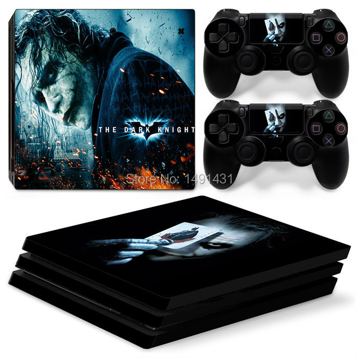 OSTSTICKER Bat Skins Sticker For Sony PS4 Pro Console Controller Games Wrap Decal
