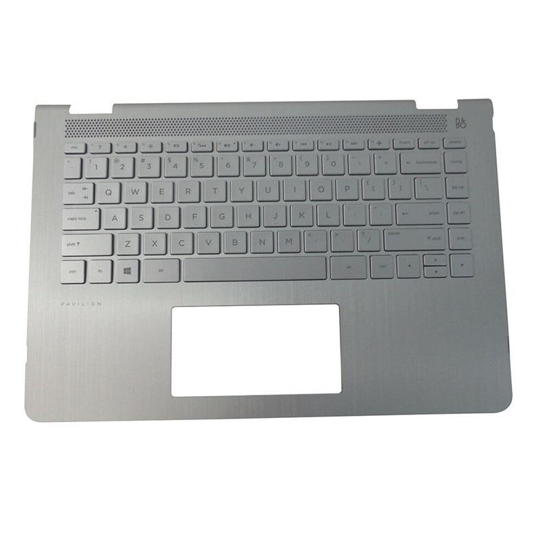 95% nouveau pour HP X360 14 M 14-BA048TX 14-BA 100TX clavier couverture ordinateur portable Palmrest 924117-001