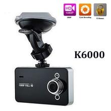 """K6000 2.7 """"Full HD 1080 P видео Регистраторы тире Камера g-сенсор ночного видения 120 градусов обнаружения движения Видеорегистраторы для автомобилей"""