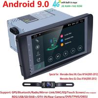 9inch 1024*600 QuadCore Android 9 CAR NODVD GPS FOR Mercedes Benz ML W164/GL X164 ML350 ML320 ML280 GL350 GL450 2005 2012 2GRAM