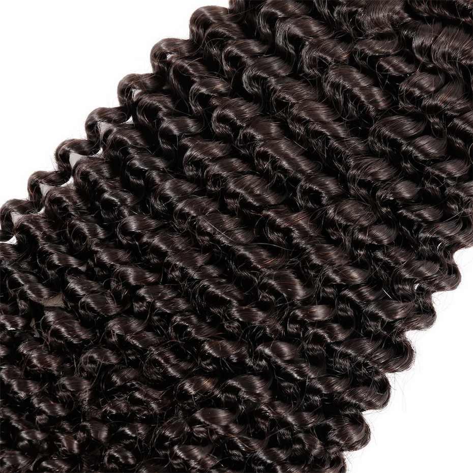 Ms lula волосы бразильские кудрявые вьющиеся волосы 1 пучок 100% человеческих волос для наращивания 6-28 дюймов remy волосы натурального цвета Бесплатная доставка