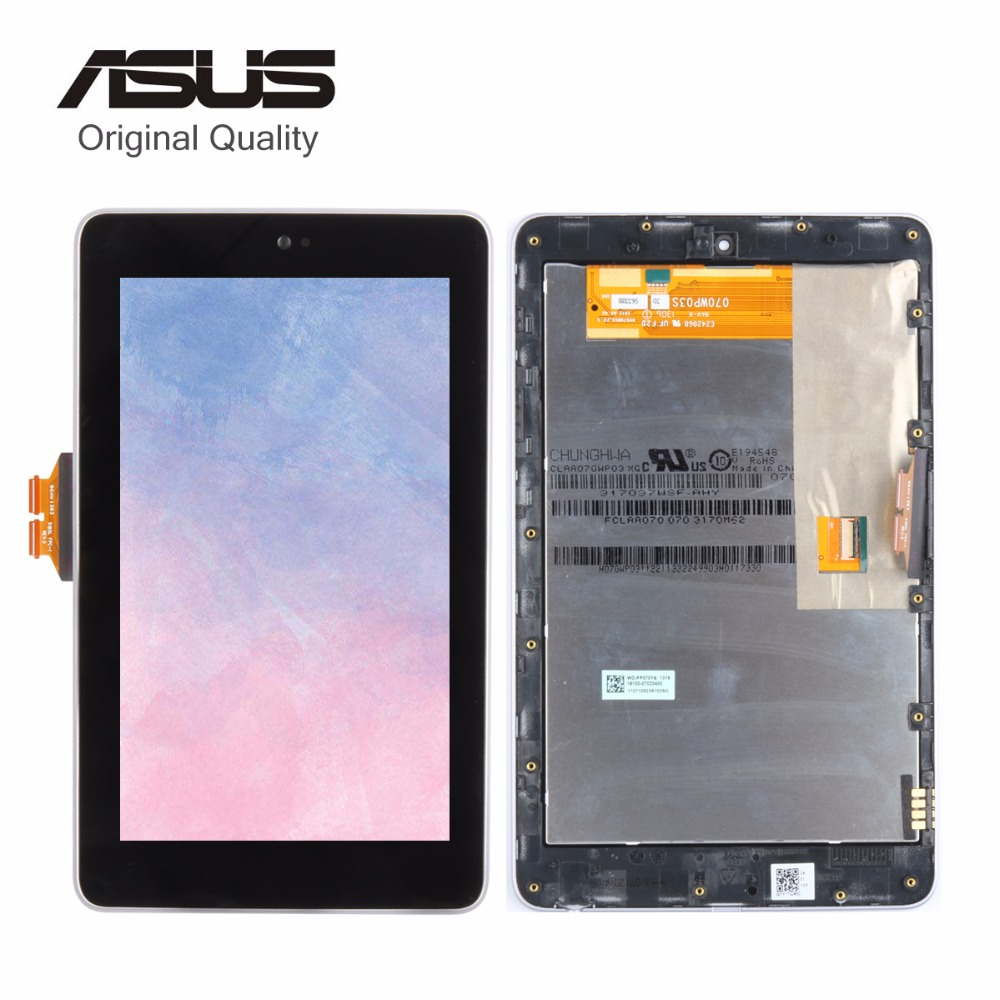 Original For ASUS Google Nexus 7 ME370T ME370 ME370TG 1st Gen 2012 3G/ Wifi LCD Display Matrix Touch Screen Digitizer with Frame  high quality lcd display touch digitizer screen with frame for asus google nexus 7 nexus7 2012 me370tg nexus7c 3g version